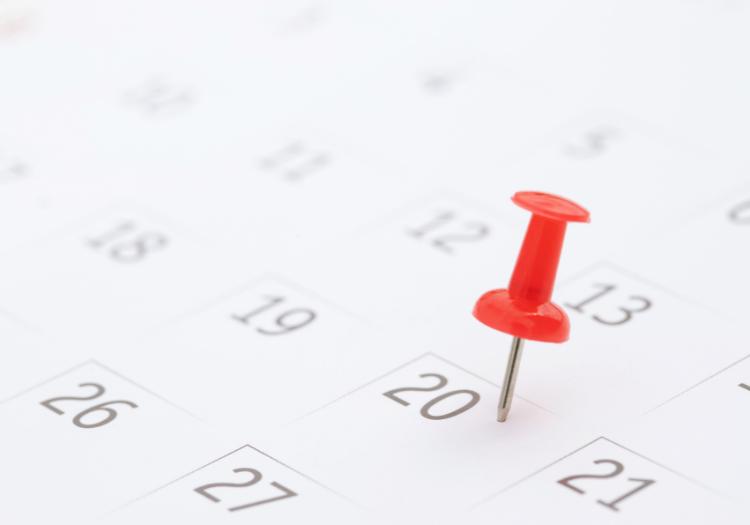 Calendario oficial de fiestas laborales para el año 2022